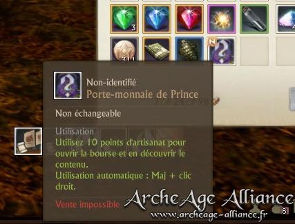 Porte-monnaie de Prince