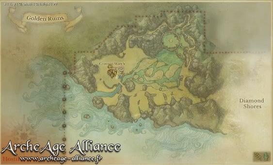 Auroria - les Ruines d'or