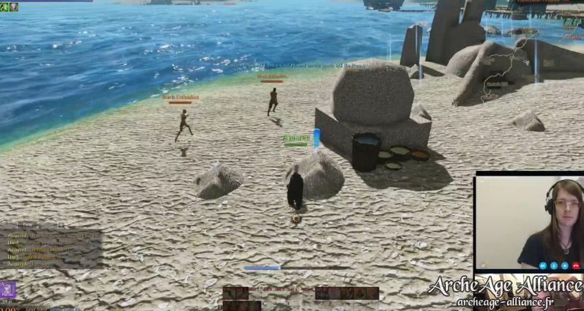 Construction de châteaux de sable durant le Festival du Sel bleu