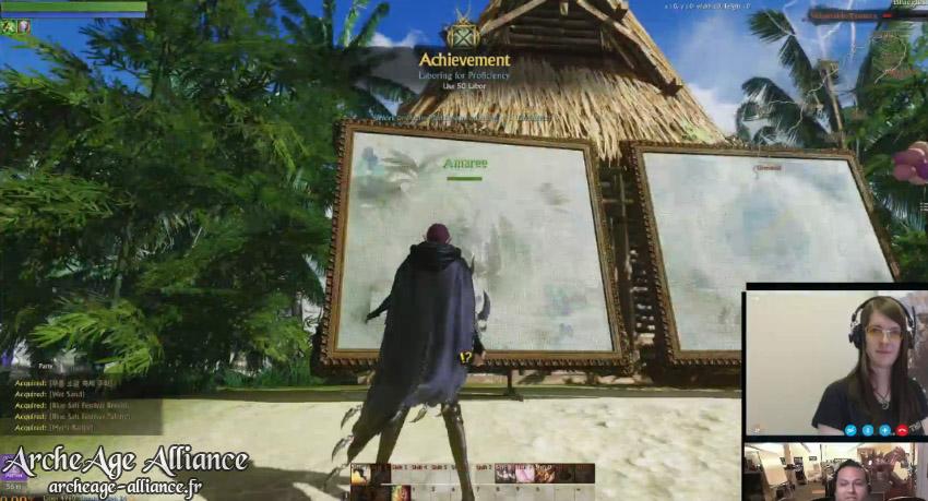 Peinture sur toile à Plongesable