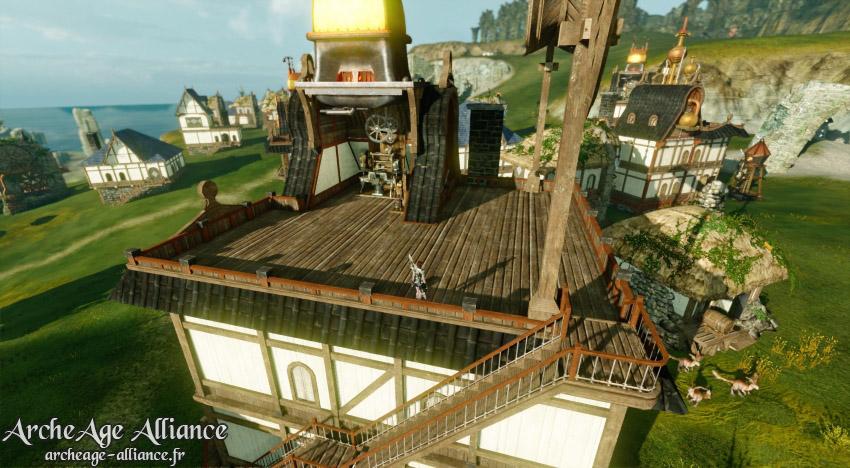 Beaucoup plus d'espace sur le toit des nouvelles maisons