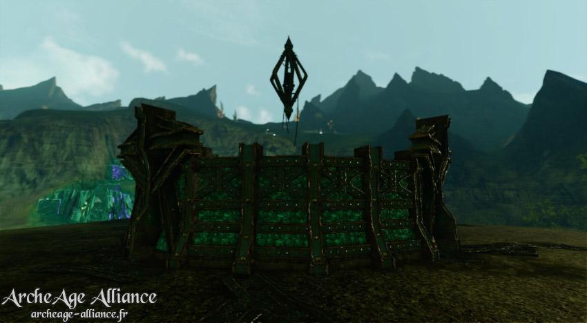 La forteresse d'Alemine