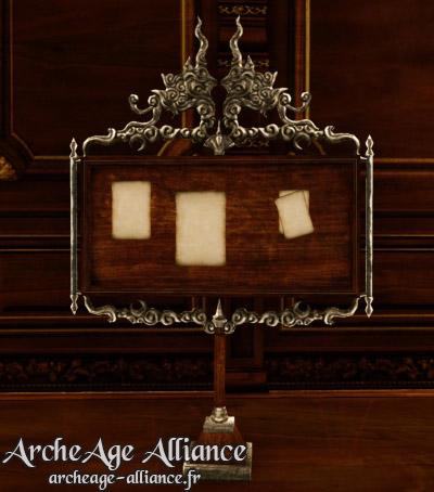 Tableau de soutien de l'Alliance Nuia