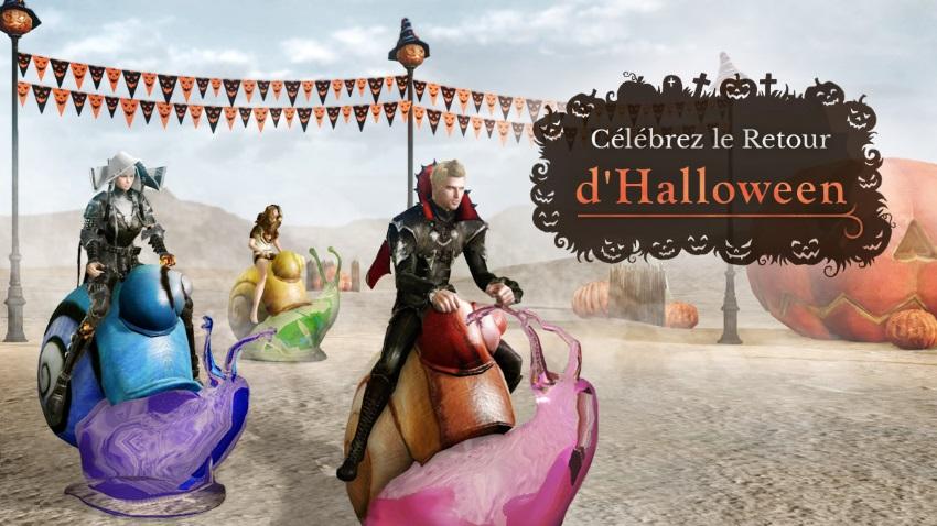 Venez fêter Halloween du 20 octobre au 3 novembre !
