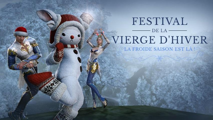 Festival de la Vierge hivernale sur ArcheAge