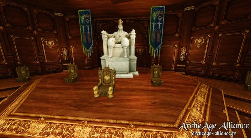 Statue de faction pour bénéficier d'un bonus