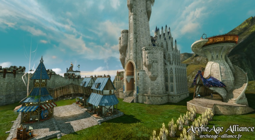 Améliorations de château sur Auroria