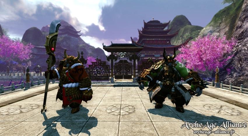 Boss Oni et Oni de glace au Sommet de Contebruine