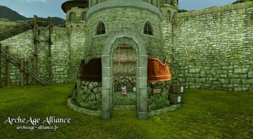Silot de château à Auroria