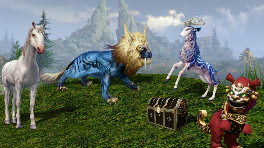 Montures du mirage sur la boutique d'ArcheAge