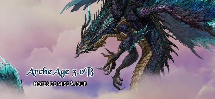 Notes de mise à jour ArcheAge 3.0B Titan ailes de foudre