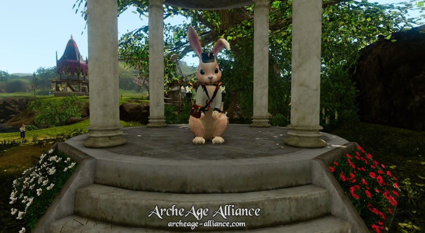 Montures lapin sur la boutique ArcheAge