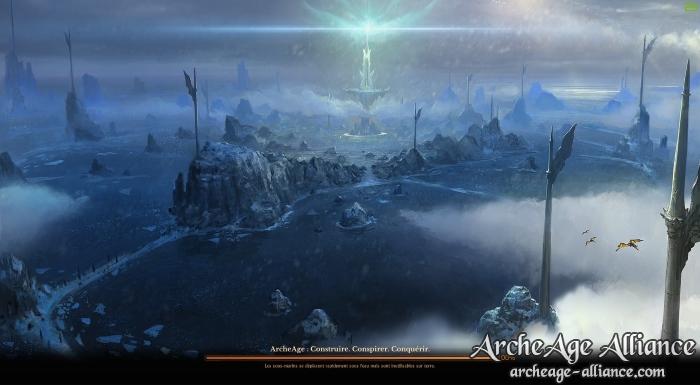 Écran de chargement ArcheAge 3.5