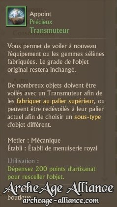 Description du Transmuteur