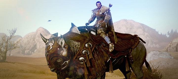 Monture Bison courageux