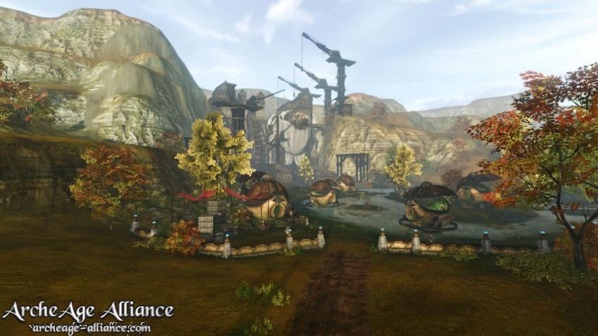 Capture d'écran du jeu ArcheAge