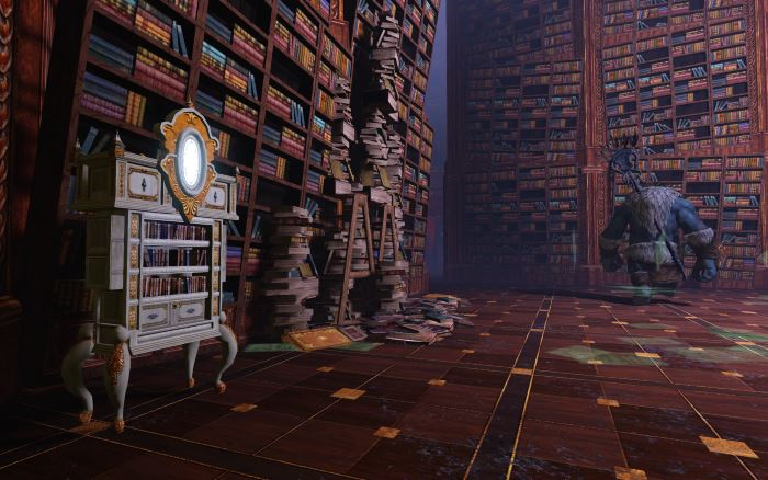 Intérieur de la Bibliothèque d'Ayanad