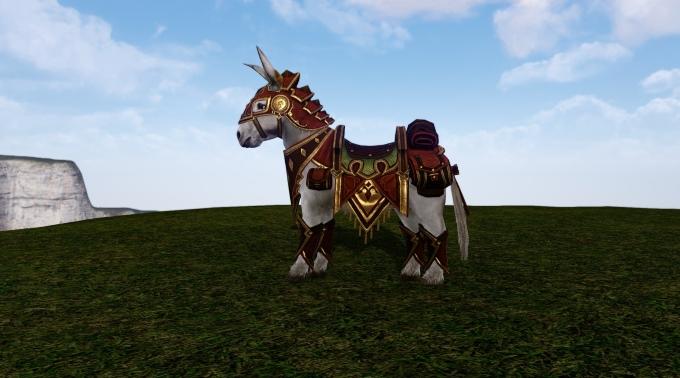Armure Armageddon sur l'âne
