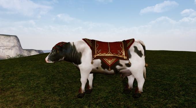 Armure Armageddon sur la vache