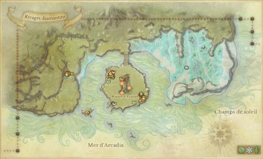 Auroria et les Rivages diamantins