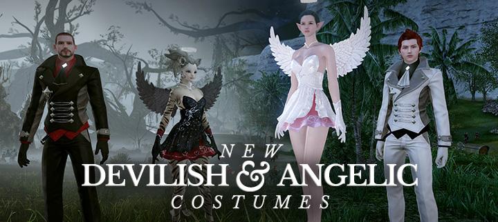Sur ArcheAge : êtes-vous plutôt ange ou démon ?