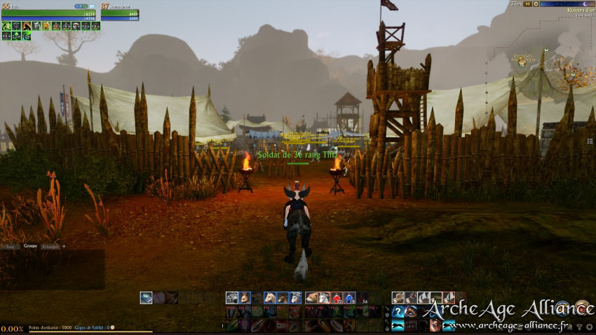 Camp des Ruines d'or