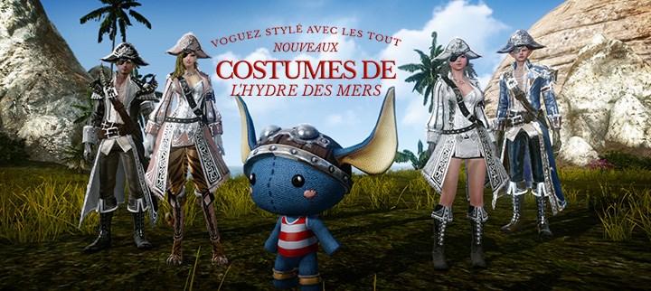 Costumes de l'Hydre des mers