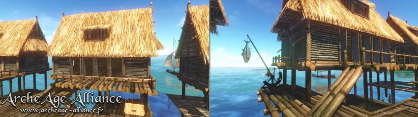 Nouveau pavillon venteux : Bungalow des marées