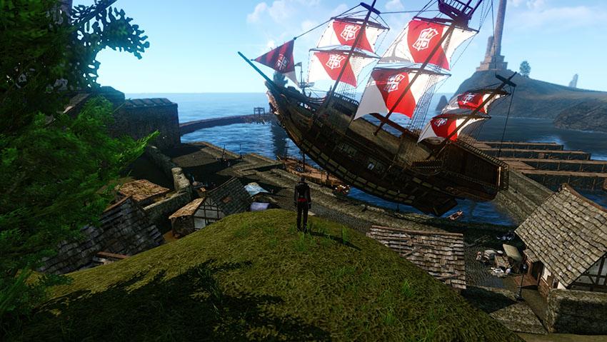 Le majestueux Galion enoan, un navire à la fois pour voguer et combattre !