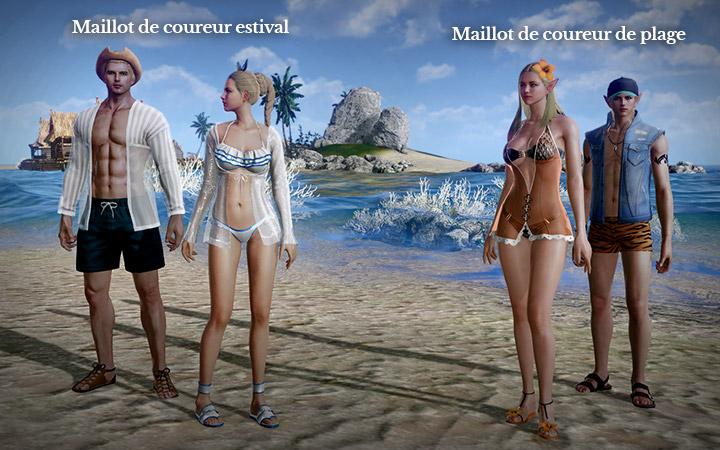 Maillot de coureur de plage