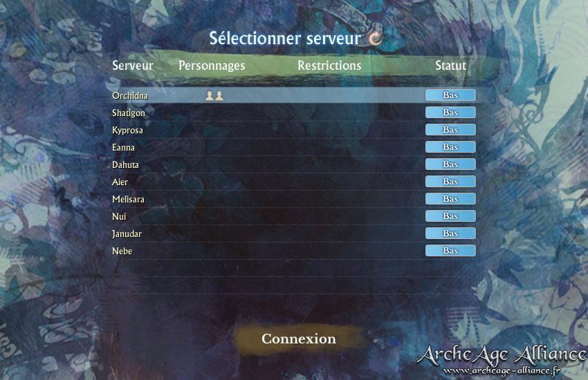 Fusion prochaine de quelques serveurs ArcheAge ?
