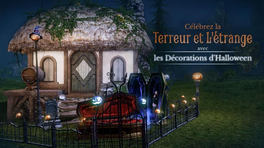 Décorez votre maison à l'occasion de la fête d'Halloween !