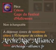 Gage du Festival d'Halloween