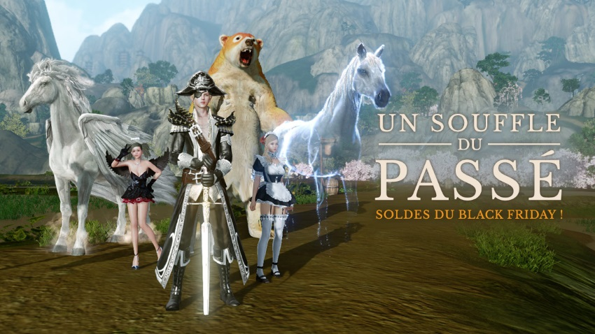 Black Friday sur la boutique d'ArcheAge