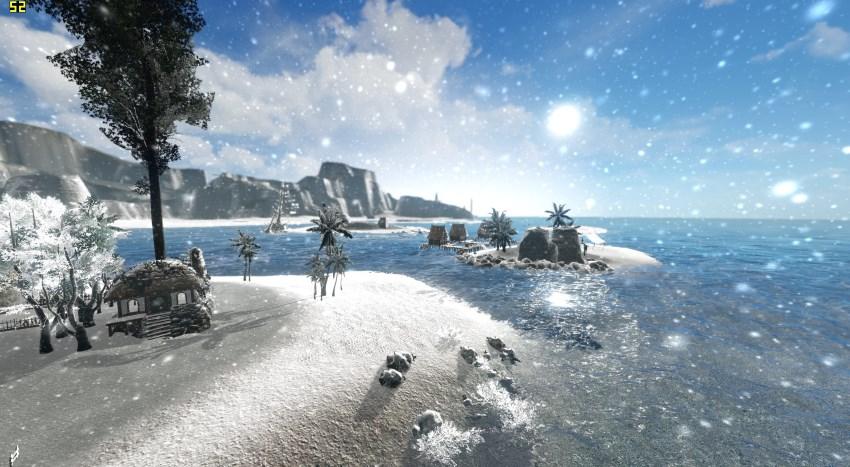 L'hiver approche, la neige aussi, sur ArcheAge