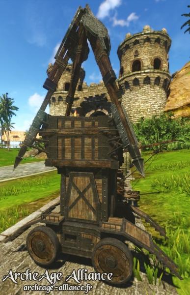 L'échafaudage de Citadelle de siège est un nouveau type d'arme de siège !