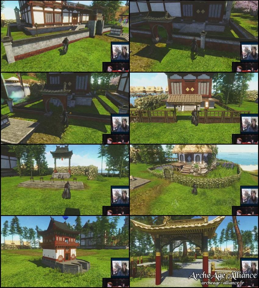 De nouvelles apparences pour les fermes et maisons sur ArcheAge