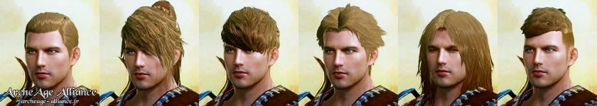 Nouvelles coiffures pour les hommes