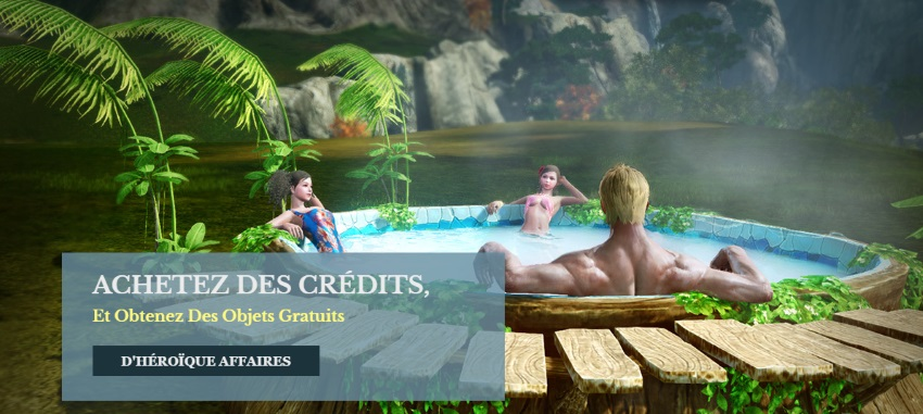 Des cadeaux offerts en bonus dans les packs de crédits