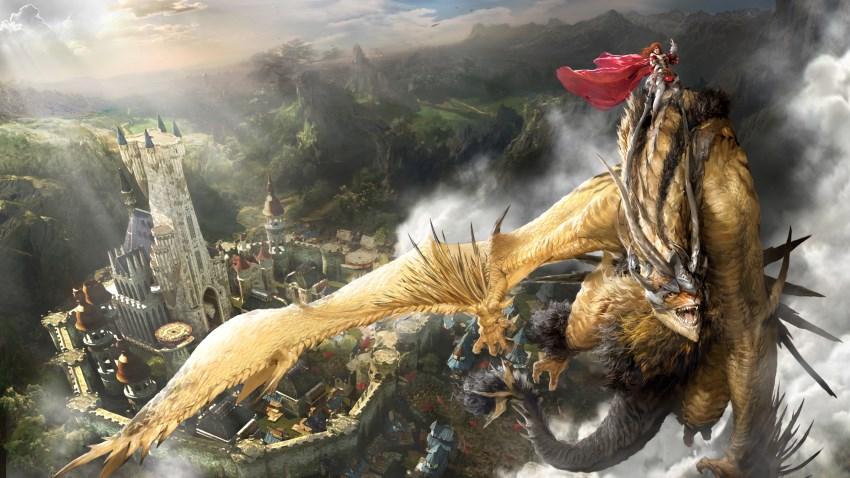 Dragon pour le seigneur des terres d'Auroria