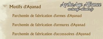 Motifs d'Ayanad