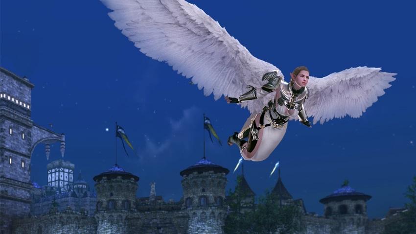 Nouveau pack Inoch - ailes astrales et costume d'ange
