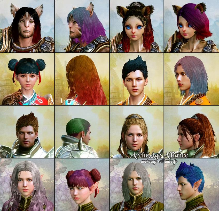 De nouvelles coupes pour vos avatars