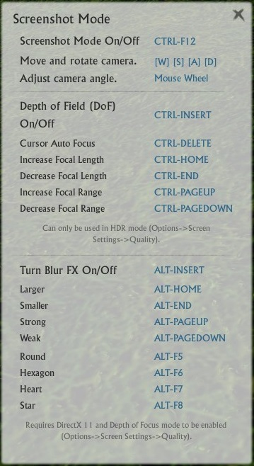 Comment faire une capture d'écran sur ArcheAge