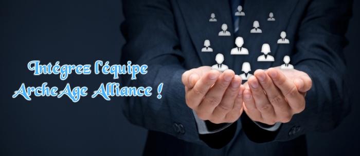 Contribuez à la communauté ArcheAge Alliance en intégrant l'équipe