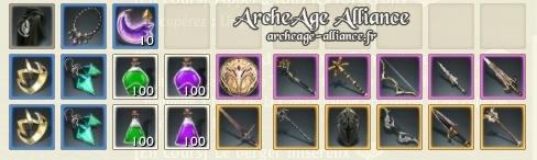 Réception du pack Imperium sur ArcheAge