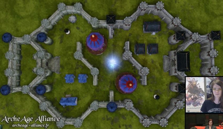 Terrain prévu pour le tournoi PvP 10vs10