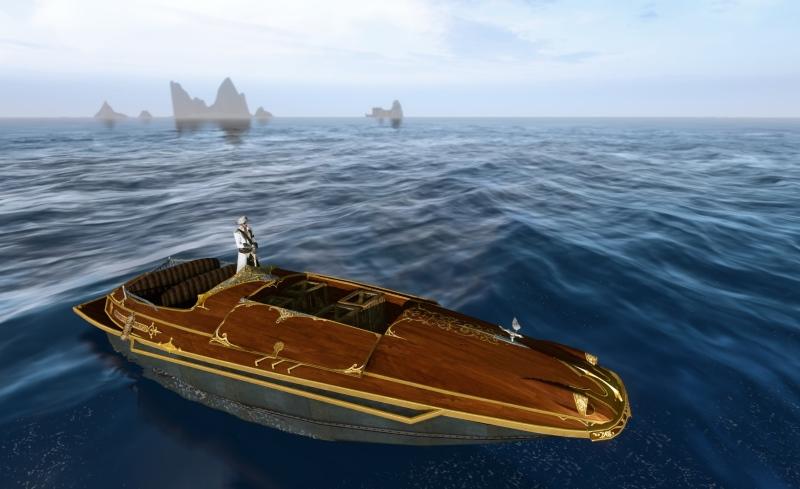 ArcheAge speedboat