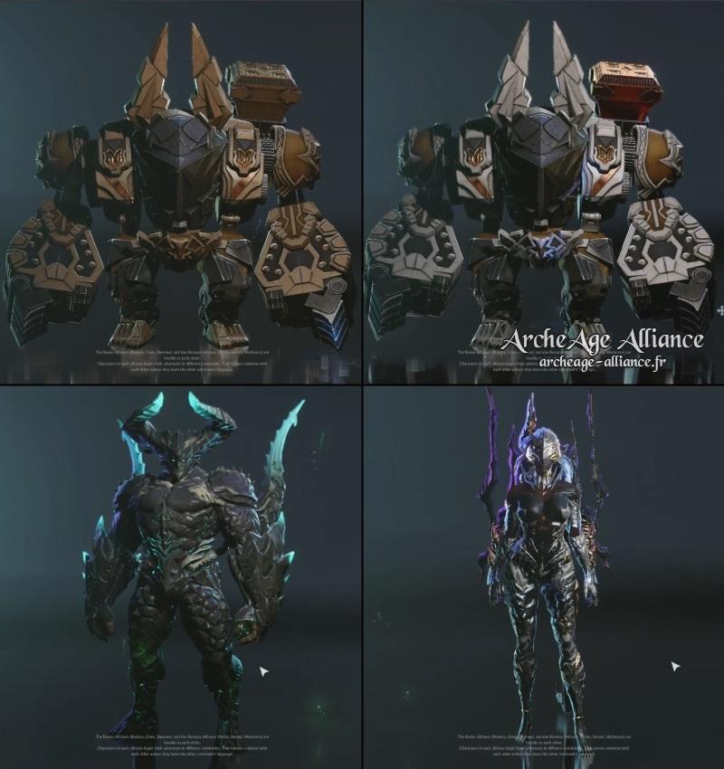 Transformation des Nains en robot mécha et des Chaotes en alien