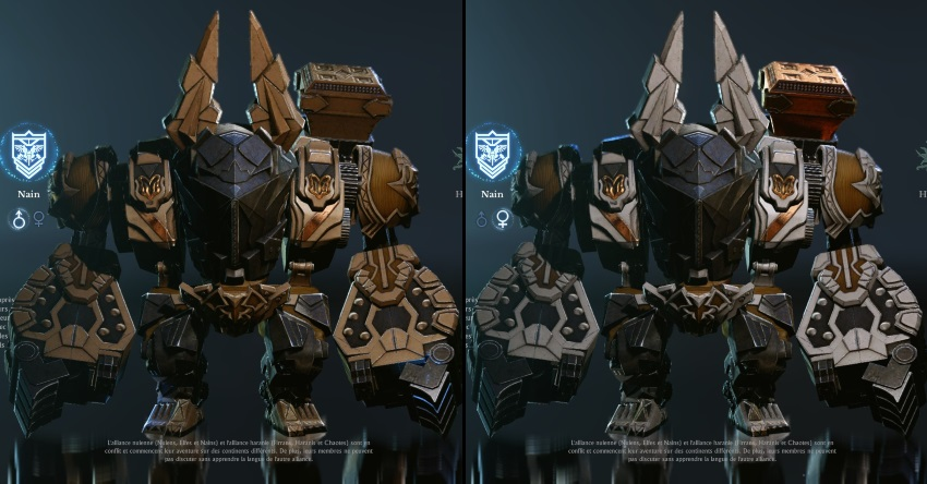 Transformation en forme Mastodonte